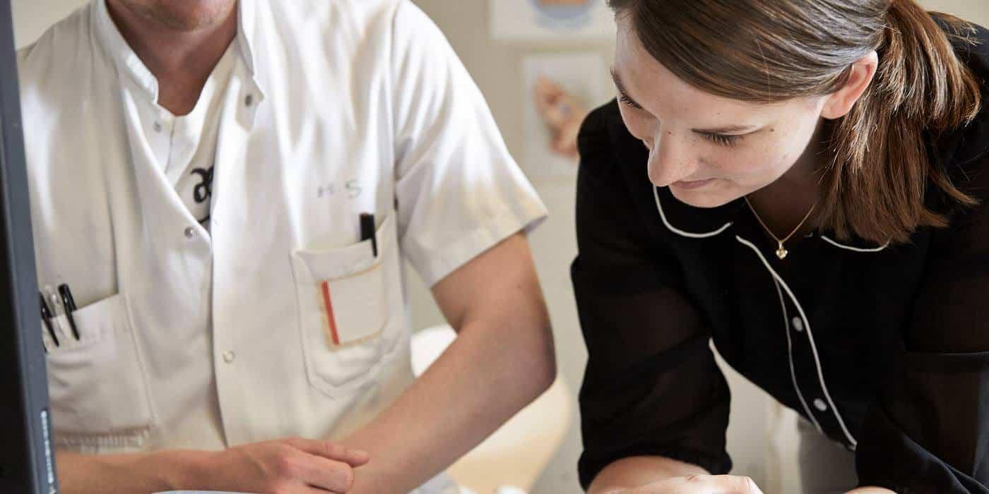 Mette besøger et dansk sygehus