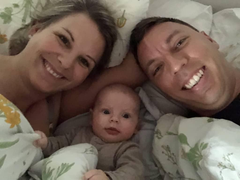 Mette og hendes familie